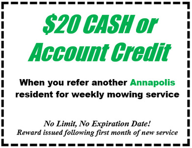 Jons Lawns of Annapolis - Coupon 2 - Lawn Care